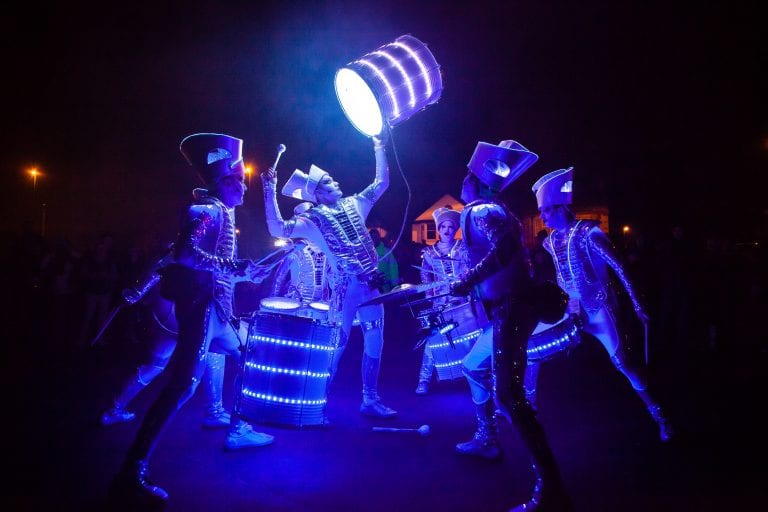 LED Drummers music group