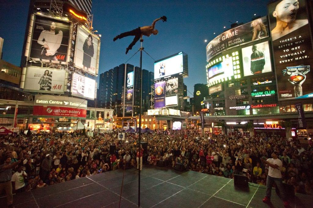 Reuben Acrobatic Chinese pole show