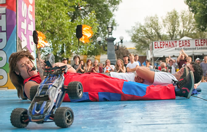 Ernest Magnifico Stunt Street Show