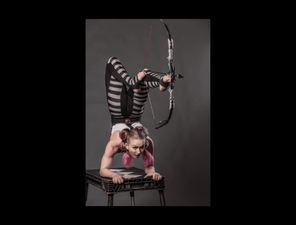 Sarah Twister circus performer
