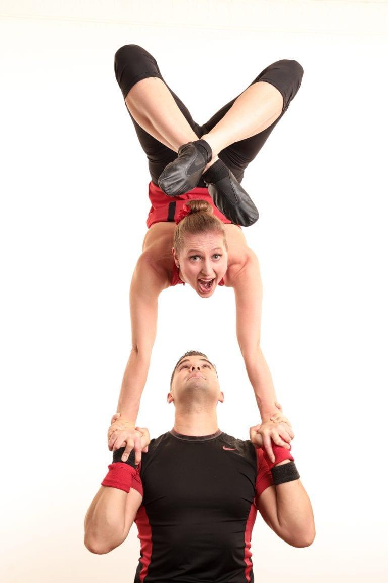Acrobatics Double Act
