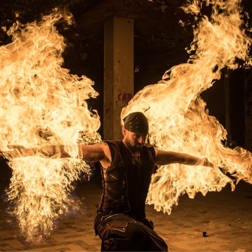 Chris Blaze - Fire Performer