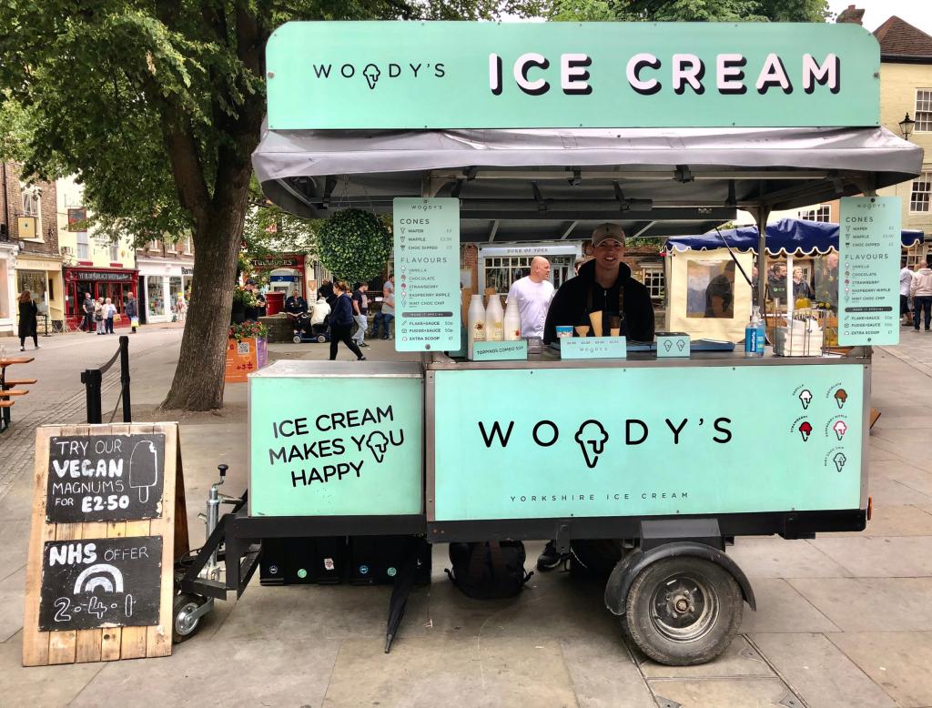 Woody's Ice cream
