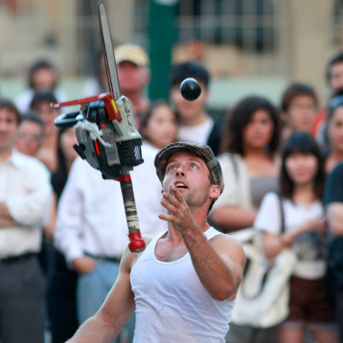 Dynamike juggling