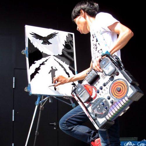 Akira artist and DJ