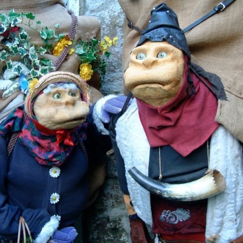 Hodman and Sally Puppetry walkabout