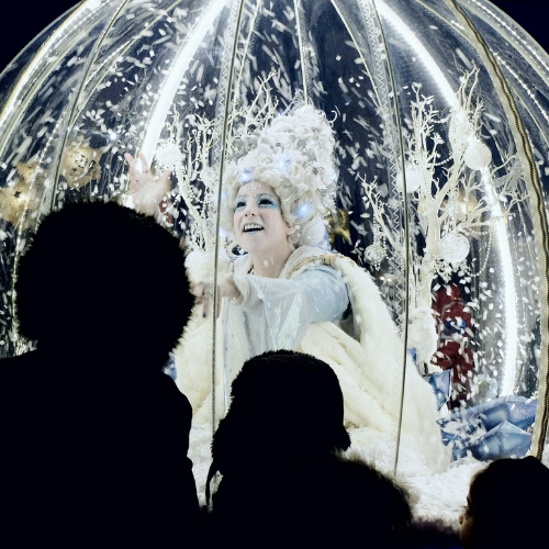 The Living Snow Globe