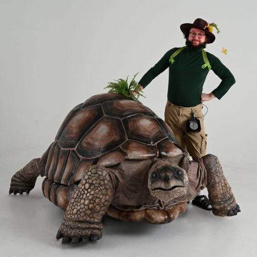 Giant Tortoise Puppet Walkabout
